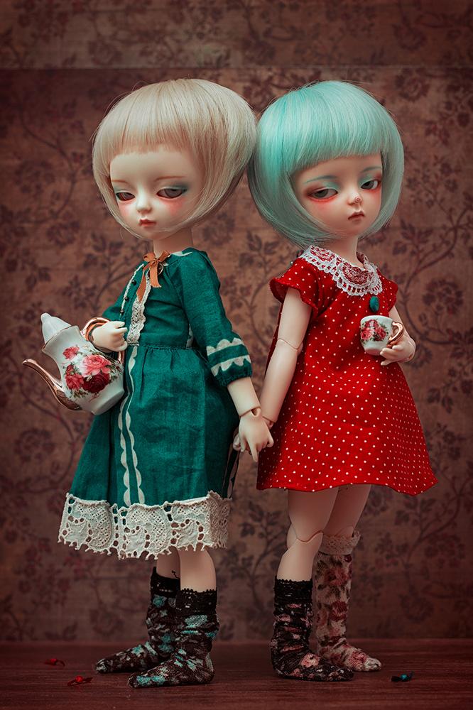 Les Petites Filles modèles © Amaktine